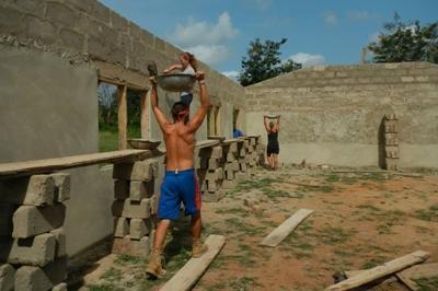 Ghana-Hausbau