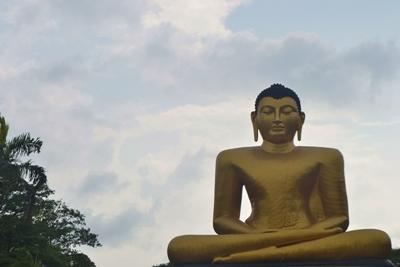 Goldener Buddha, Sri Lanka