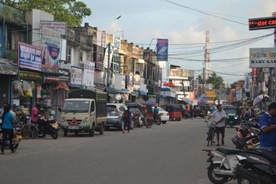 Straßen von Colombo, Sri Lanka
