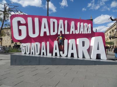 Im touristischen Zentrum Guadalajaras