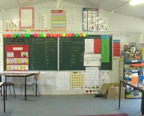Südafrika-Sport-Klassenzimmer
