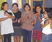 Freiwillig, Bolivien, Girls