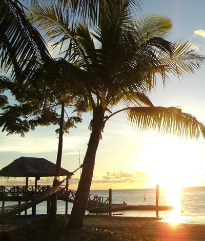Sozialarbeit Fidschi Abend