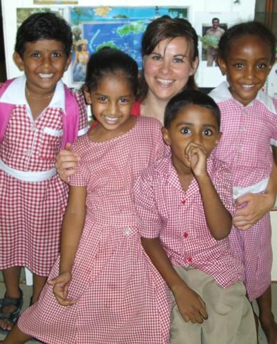 Sozialarbeit Fidschi Kinder