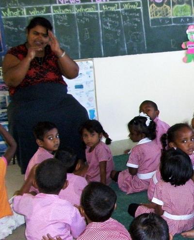 Sozialarbeit Fidschi Klasse
