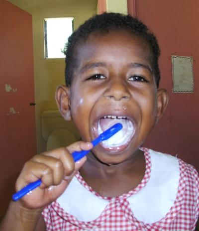 Sozialarbeit Fidschi Putz