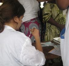 Togo Medizin - Praktikum Impfen