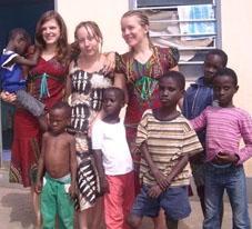 Togo Sozialarbeit Freiwillige