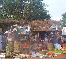 Togo Sozialarbeit Markt