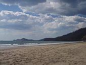 Sandstrand in Costa Rica