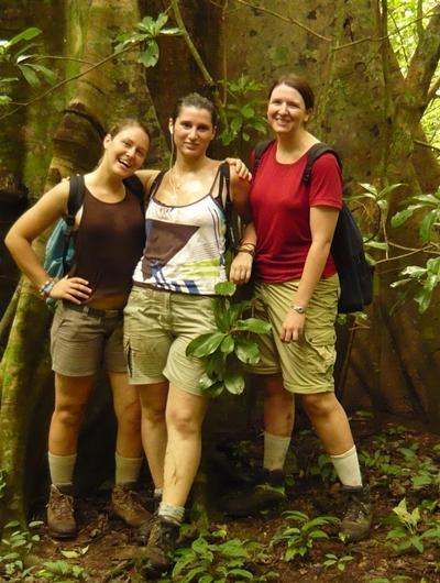 Naturschutz Costa Rica Wasserfallen