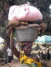 Ghana, Freiwillig, Frau