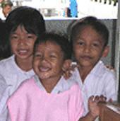 Thailand, Freiwillig, Kids