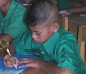Thailand, Freiwillig, Schueler