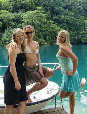 Medizin praktikum Jamaika Blue Lagoon