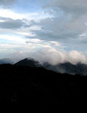 Aussicht von Blue Mountain