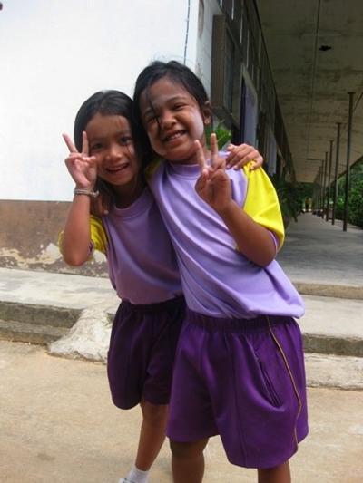Zwei der Kinder