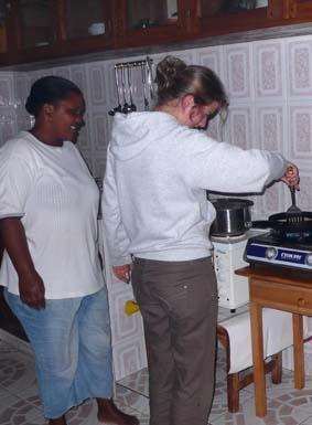 Tansania, Sozialarbeit Gastmutter