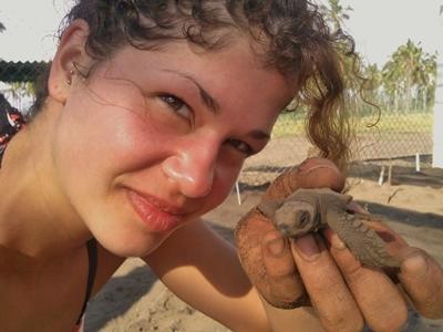 Mexiko-Naturschutz-Freiwillige