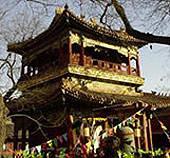 Praktikum, China, Tempel