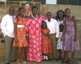 Ghana-Sozialarbeit-Gastfamilie