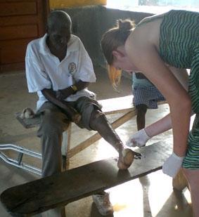 Ghana-Sozialarbeit-Lepra