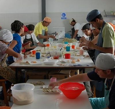 Argentinien-Sozialarbeit-Arbeit