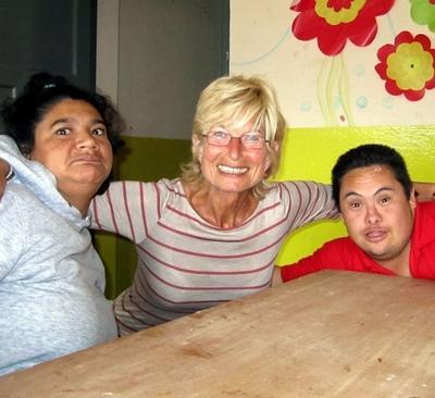 Argentinien-Sozialarbeit-Freiwillige
