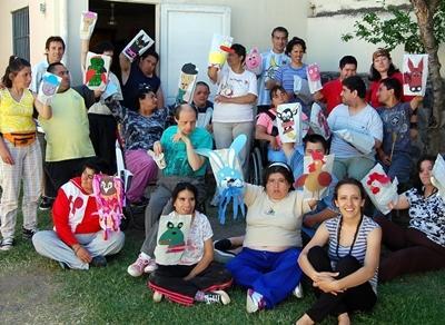 Argentinien-Sozialarbeit-Puppen