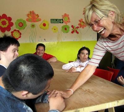 Argentinien-Sozialarbeit-Zuwendung