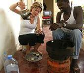 Senegal, Freiwillig, Bei Gastfamilie