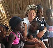 Senegal, Freiwillig, Ursi, Kids