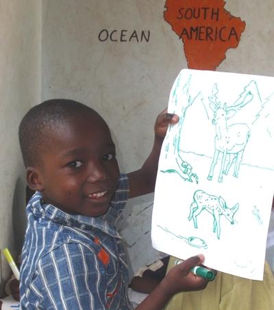 tansania-unterrichten-malstunde