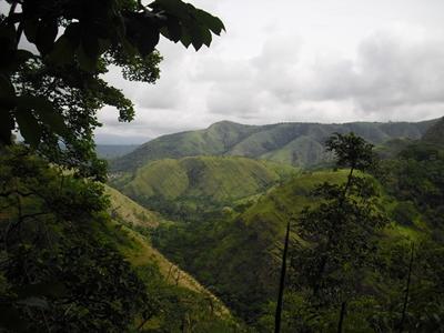Berge in Ghana