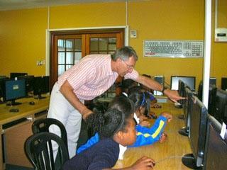 Südafrika Unterrichten Computer