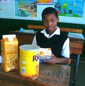 Südafrika Unterrichten Frühstück