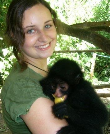 Naturschutz Peru Affe