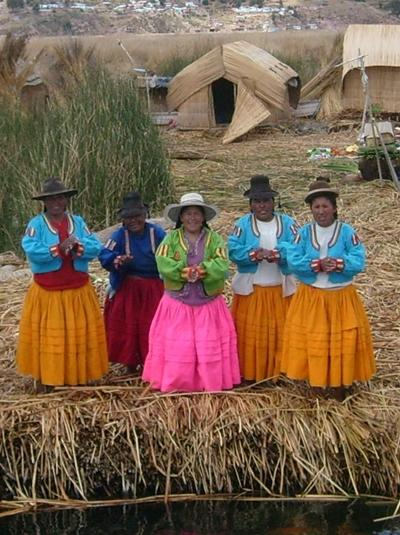 Naturschutz Peru Uros