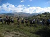 Argentinien-Pferdetherapie - Gruppenfoto