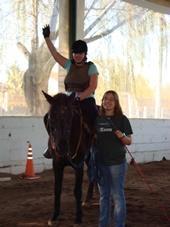 Argentinien - Pferdetherapie Reithalle