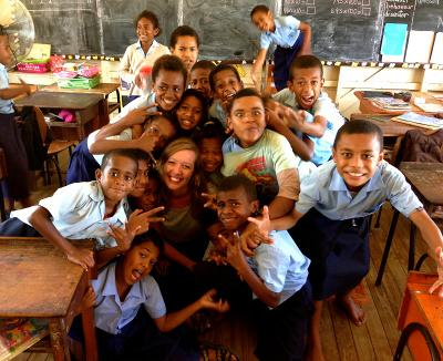 Anna historie: Undervisning i Fiji