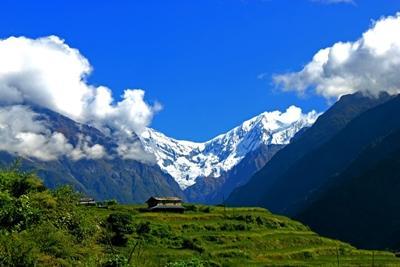 Nepalesisk bjerglandskab