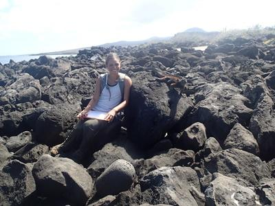 Eva monitorerer havleguaner