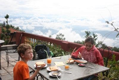 Morgenmad svævende i skyerne