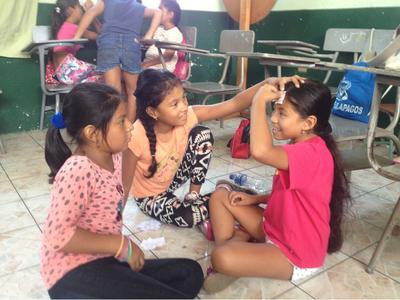 Frivilligt arbejde med undervisning i Ecuador