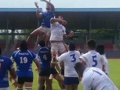 Rugbyspillere i kam