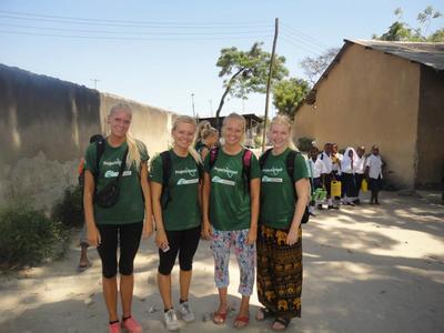 Frivillige i Tanzania