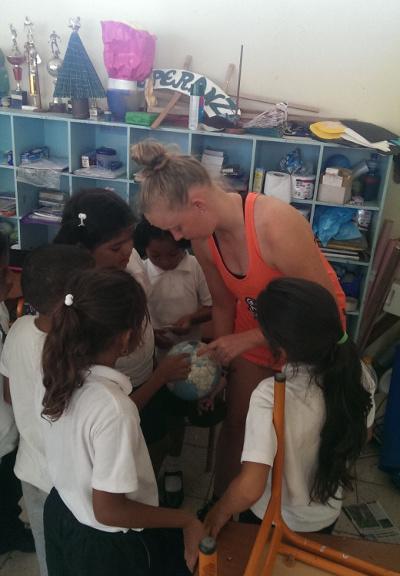 Frivillig på undervisningsprojekt i Ecuador