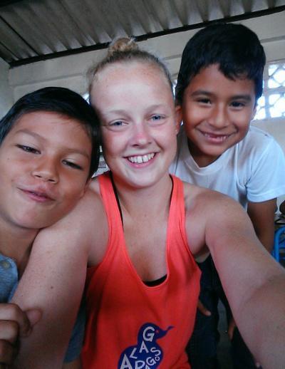 Selfie fra Ecuador