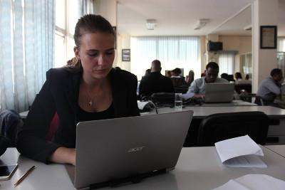 Frivillig på journalistikprojekt i Etiopien